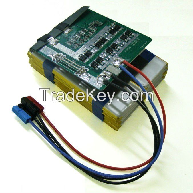 polymer battery for industrial power supply
