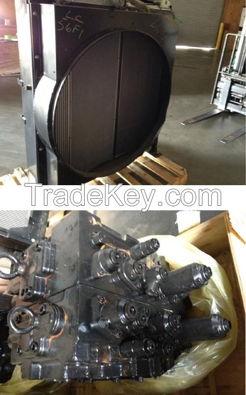 Kobelco Parts Part # Description Quantity Price per unit  YB12P00011P1 SK-170-9 SCR Muffler 6 $300  LS10V00014F1 SK485-8 Pump with PTO 2 $4,000  LC05P00056F1 SK350-9 Radiator 1 $2,000  LQ30V00034F1 SK260-9 Main Valve 5 $2,500