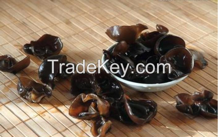 black mushroom Dried Black Fungus mushroom Dried mushroom wood ear