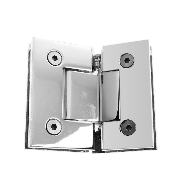 STAINLESS STEEL GLASS SHOWER DOOR HINGE /BATHROOM DOOR CLIP/ SHOWER GLASS CLIP HARDWARE