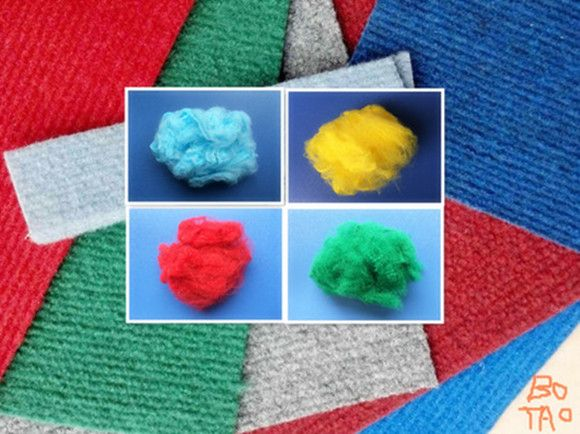 Polypropylene/PP Staple Fiber / PPSF for Needled Carpet