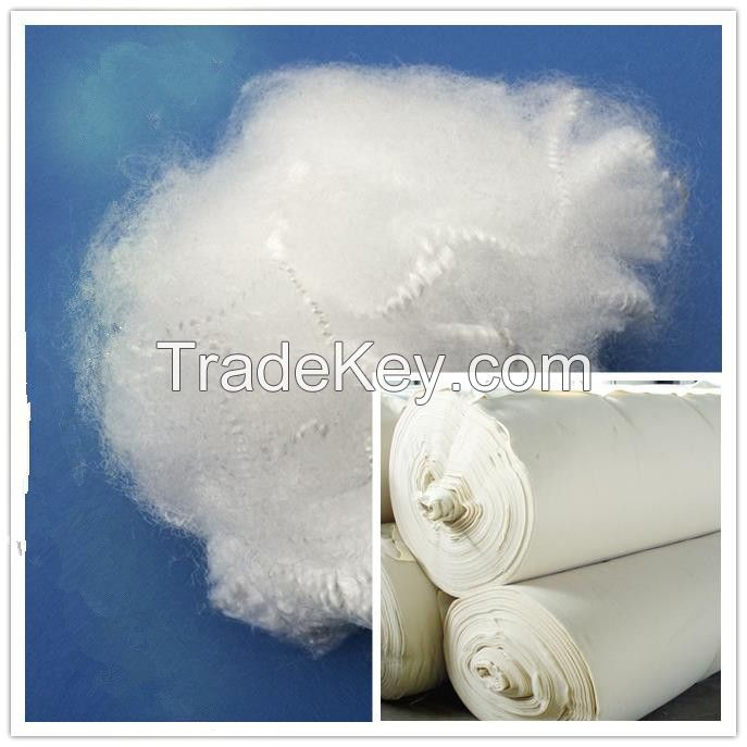Polypropylene/PP Staple Fiber/PPSF for Non-woven Geo-textile
