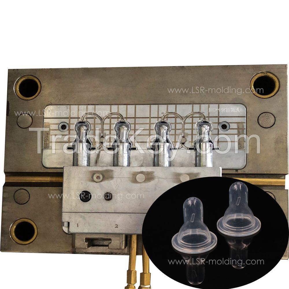 LSR Liquid Silcione Rubber Injection Molding