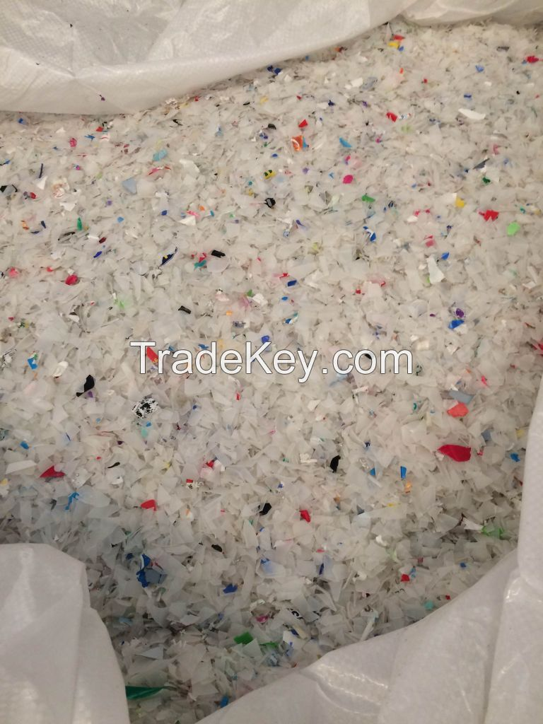 HDPE and PP regrind