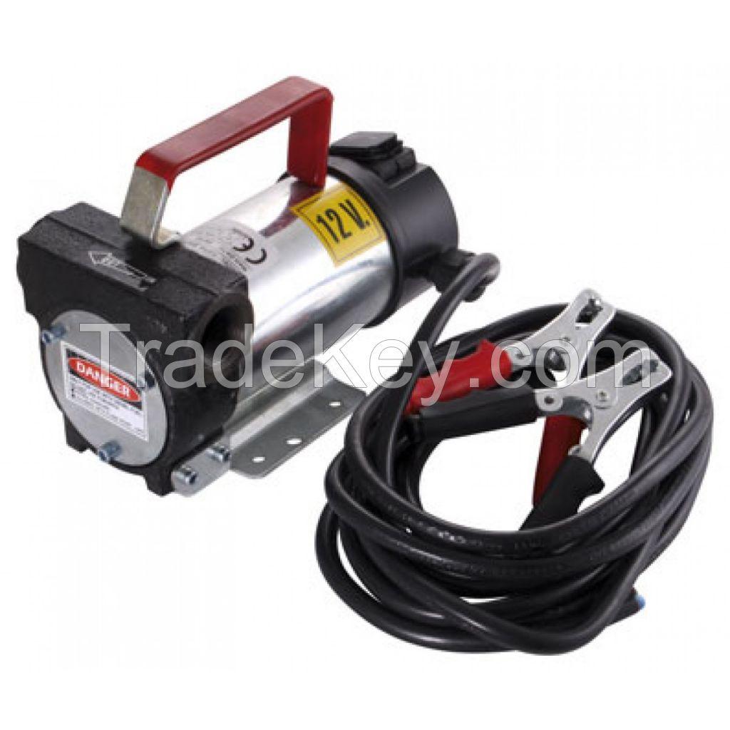 Diesel transfer pump battery driven