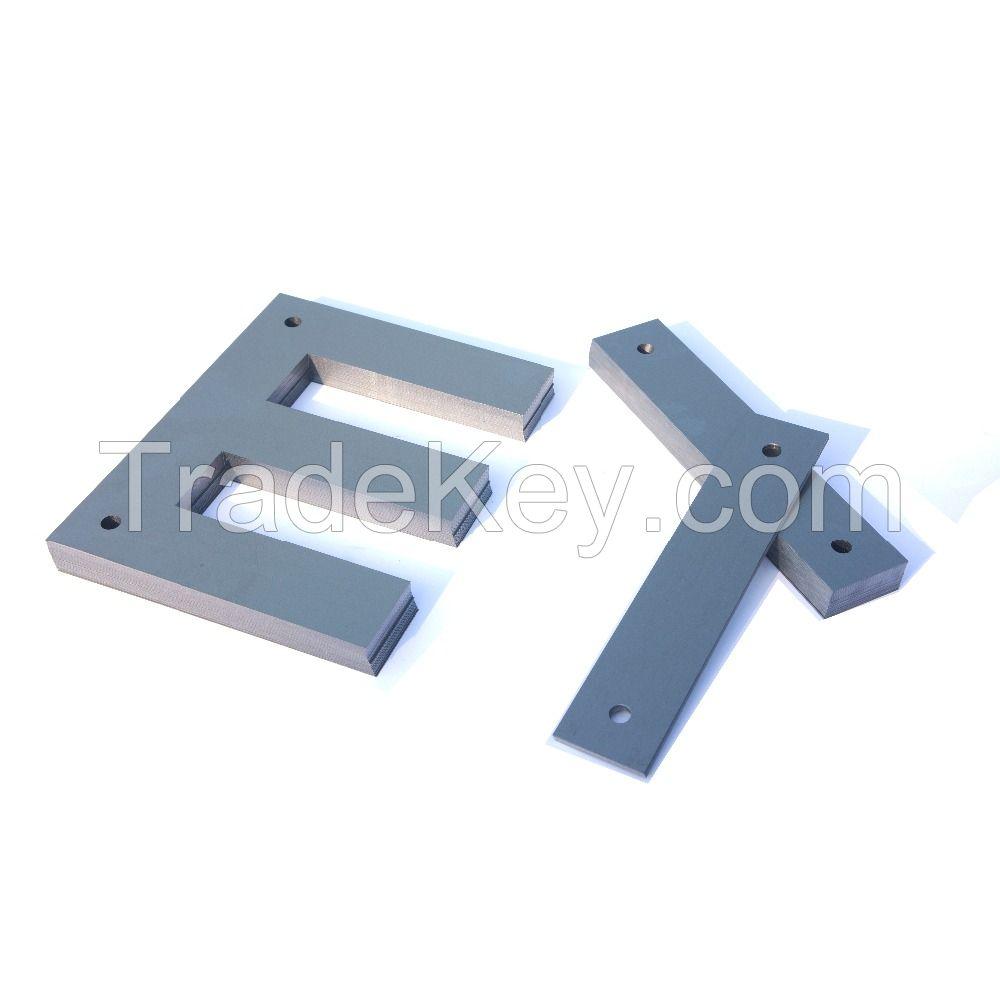 cold rolled Silicon Steel Lamination E I U T shape strip in transformer core