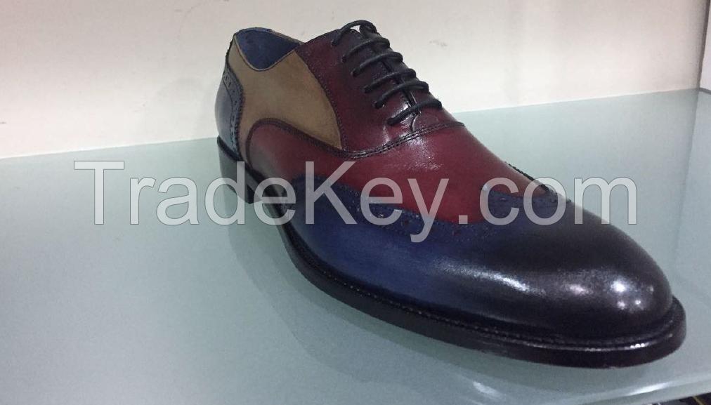 Men` leather shoes