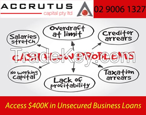 Unsecured business loans Australia wide