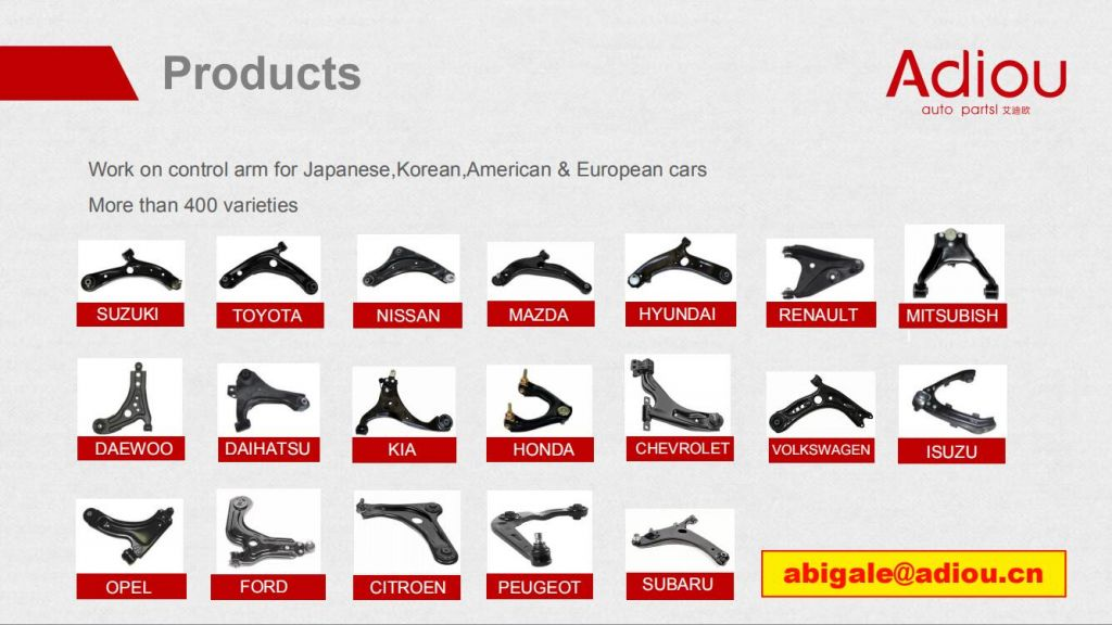 SUSPENSION ARM MANUFACTURER FROM CHINA