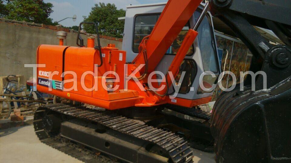 Secondhand Hitachi Mini Small Excavators For Sale, Hitachi EX60-1 Crawler Excavator