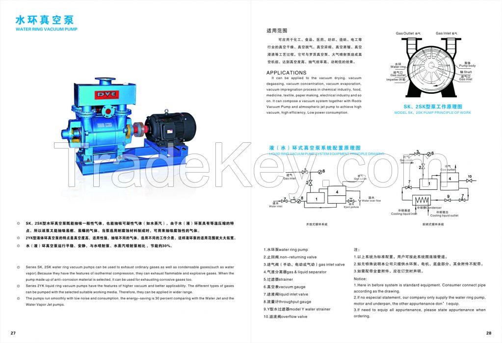 Vacuum Impregnation Liquid Ring Pump Used for Chemical Industry