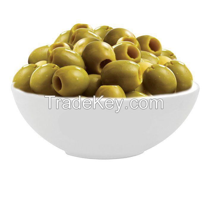 Green chalkidiki olive
