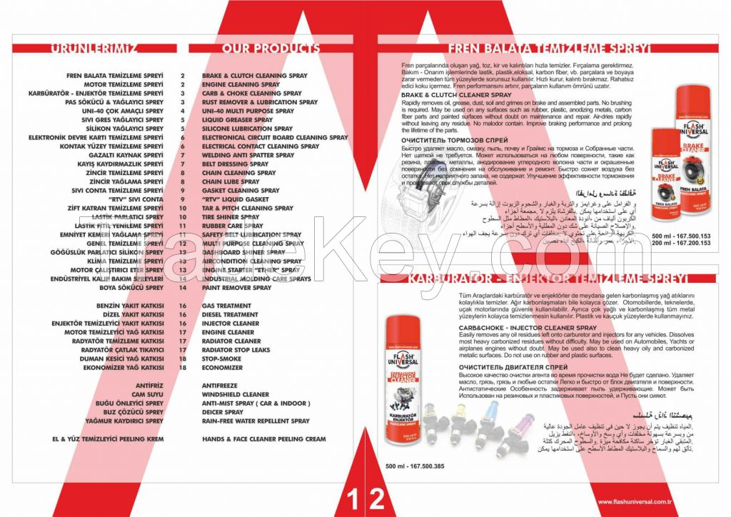 Brake and Clutch Cleaning Spray
