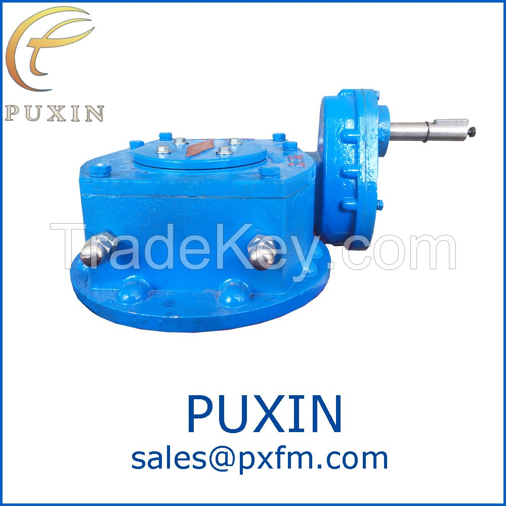 manual valve worm gearbox