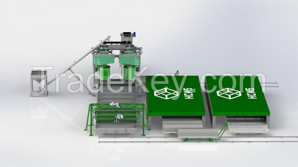 Aerated Concrete Blocks Production Line NS-100KA