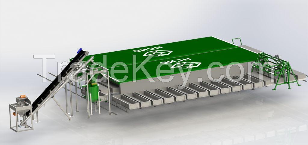 Aerated Concrete Blocks Production Line NS-60KA
