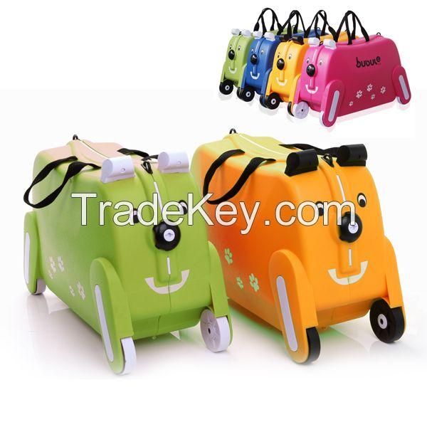 Cute children bag plastic cute children schoolbag KIDS LUGGAGE