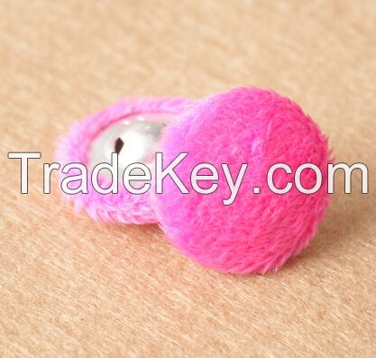 Suede fabric button round hand sewing buttons