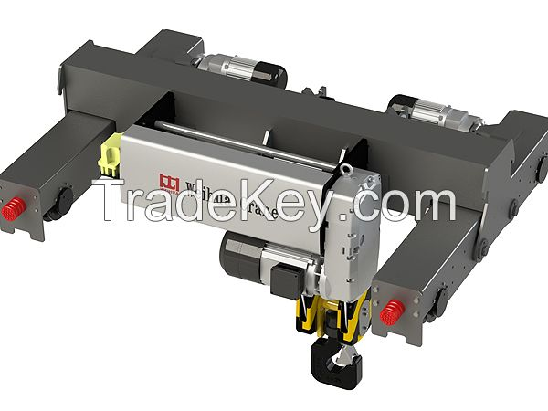 European Style Wire Rope Electric Hoist