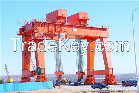 A type Double Girder Gantry Crane