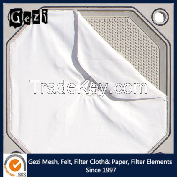 Gezi 100% Nylon filter cloth for fruit process