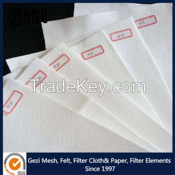 Gezi PP filter cloth for press filter with excellent abrasive resistance