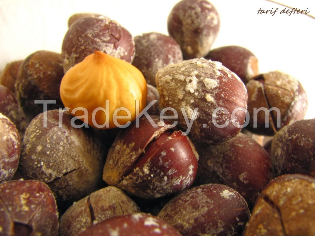 Organic Conventional Hazelnuts