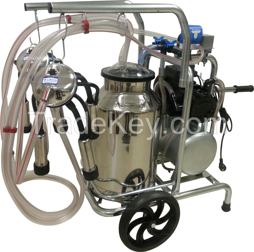 LAKTO Mobile Milking Machine
