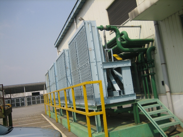 Leroy Generator Rated 3200 kW with twin Detroit Diesels