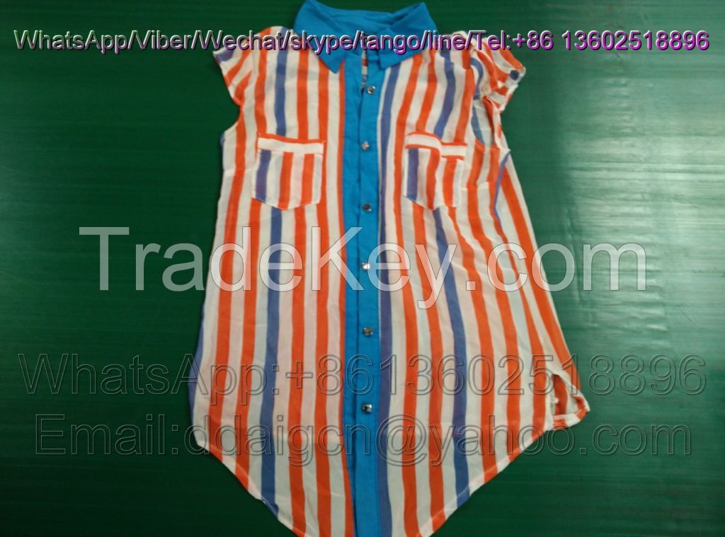 Branded Ladies Cotton Blouse Used Clothes In Bales
