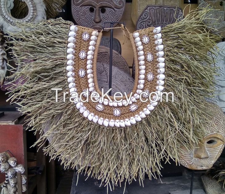 Tribal adornment for sacred rituals.