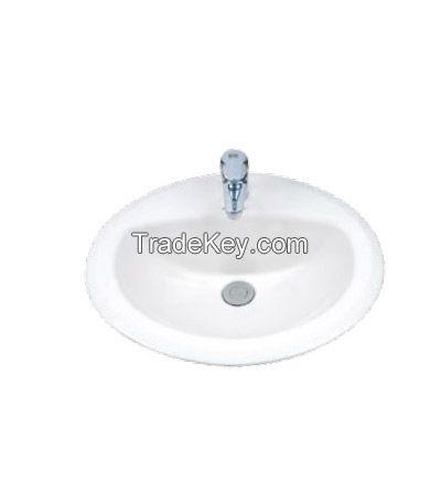 White Ceramic Basin