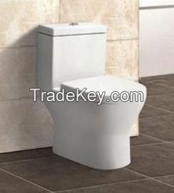 Bathroom Ceramic Toilet Commode