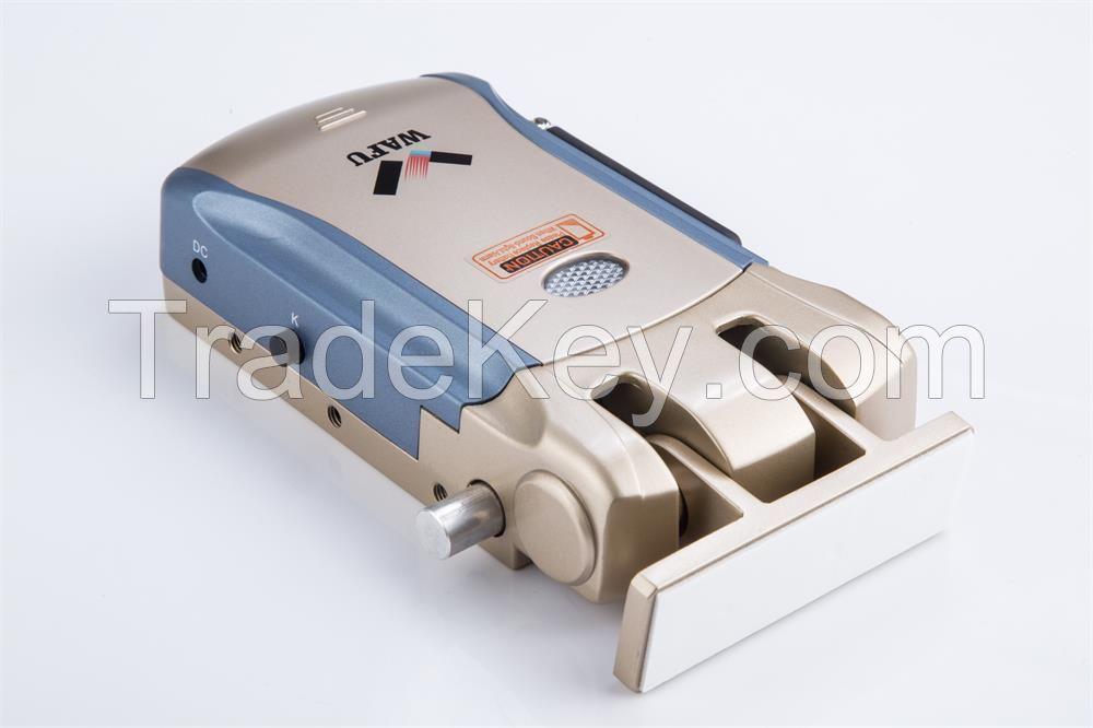 WAFU Wireless Smart Remote Lock Stealth Invisible Remote Control Lock with 4 Remote Keys