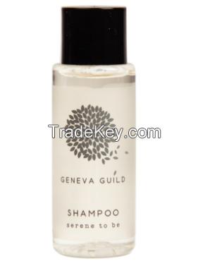 Personalized 30ml Hotel Amenities Bathroom Shampoo Plastic Bottle