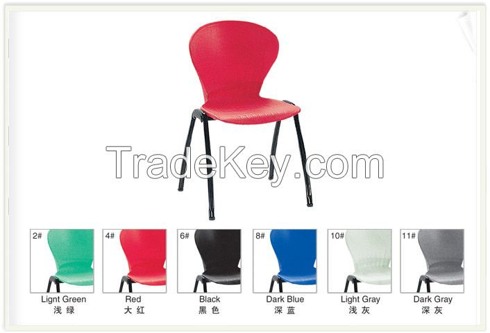 Environmental Cheap Price Plastic Stackalbe Chair for School