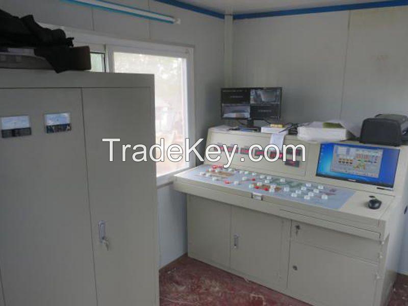 China HZS25 Minrui Stationary Concrete Batching Plant