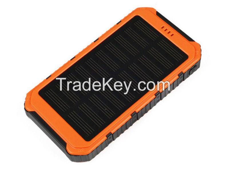 Led Flashlight Power Bank 8000mAh Solar Powerbank(SPB198)