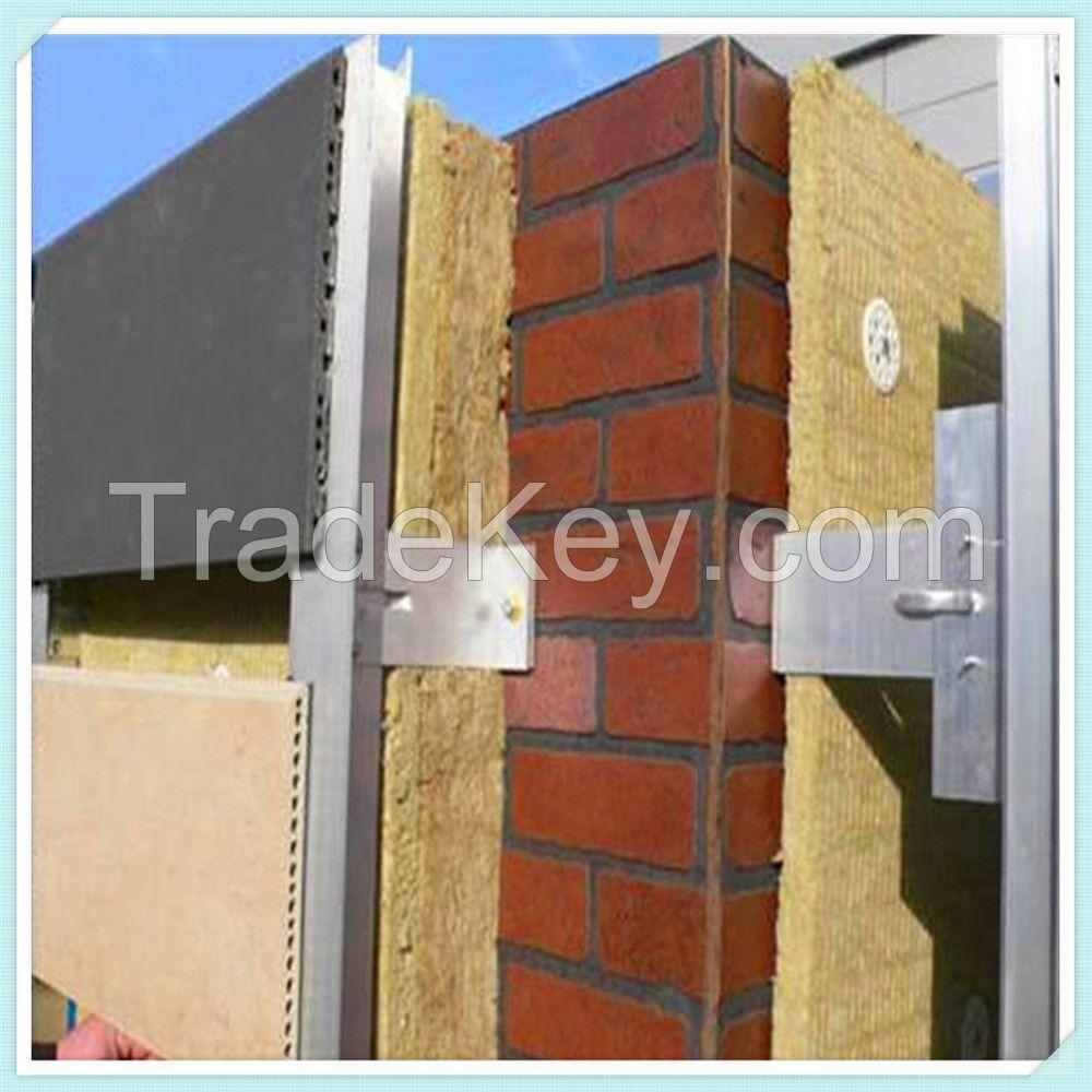 External Wall Insulation Panel Rockwool Board for Fire Barrier