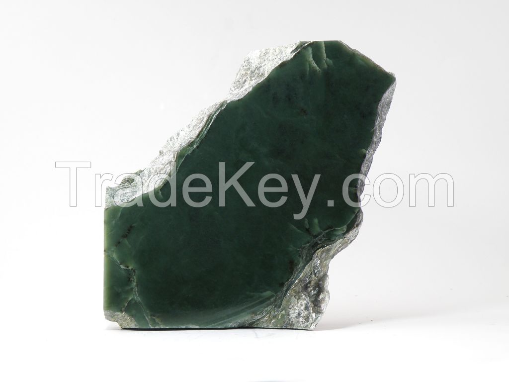 Evergreen Jade (Nephrite) Rough
