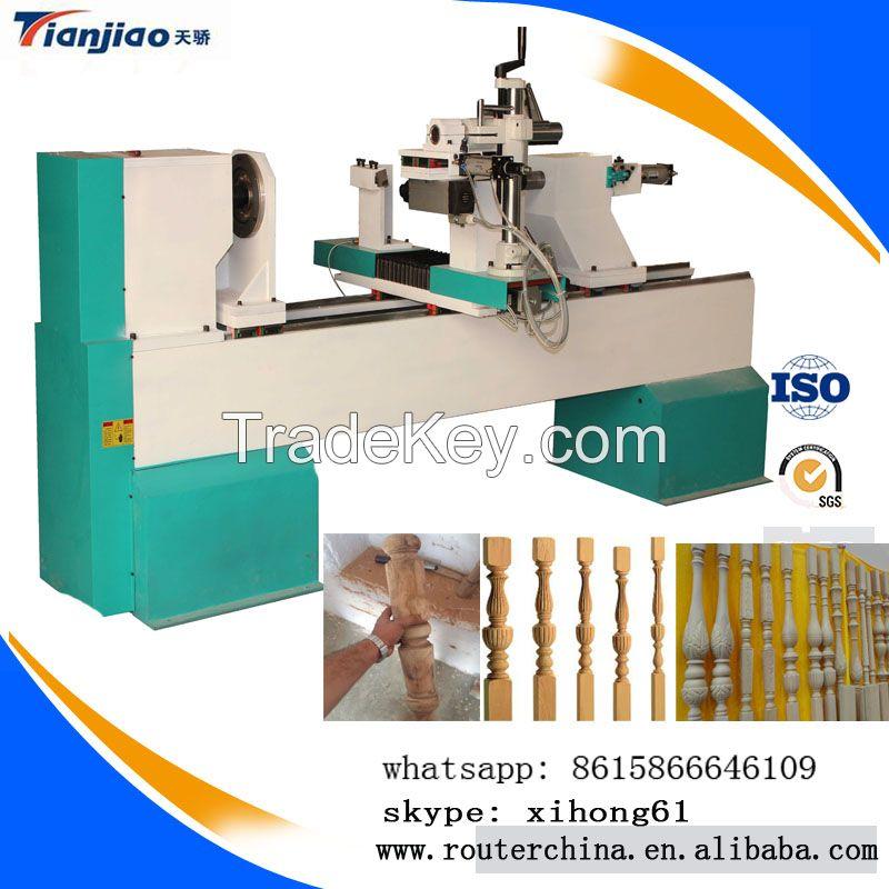 Multi function wood turning machine,wood cnc lathe