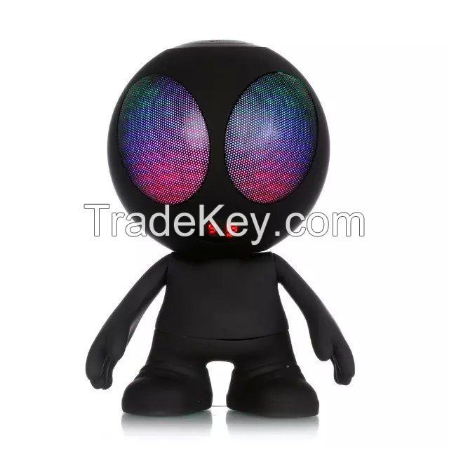 Colorful LED light ET shape Bluetooth speaker support TF FM USb