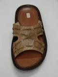 Leather and Jute Footwear