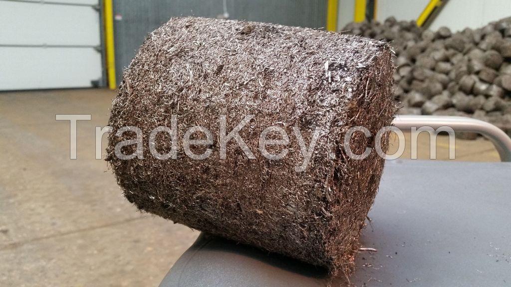 High Density Steel Briquettes