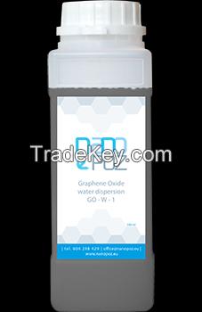 Graphene oxide water dispersion