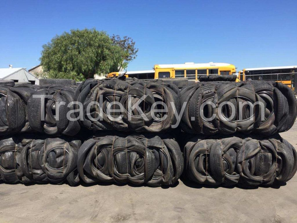 scrap baled tires