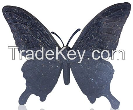 Butterfly-China Tea Sculpture Decoration -Tea Gift -Tea Carving Ornament-Tea Art-Tea Home Accessories