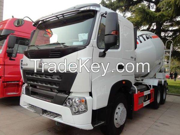8CBM HOWO A7 Concrete Mixer Trucks 6x4 Concrete Mixer Truck For Sale