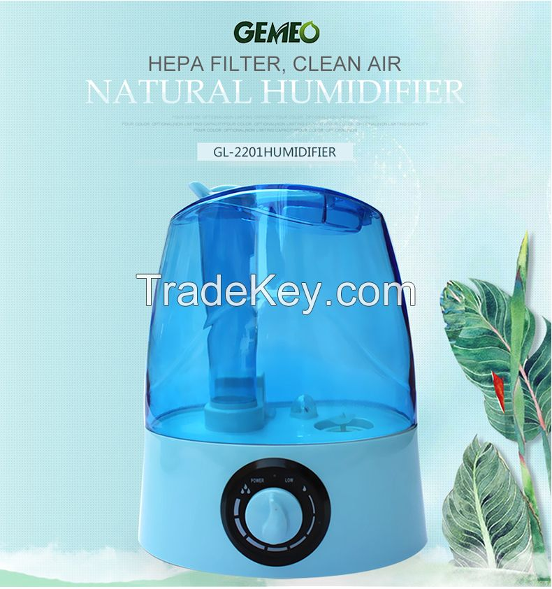 Health care atomizer led the lamp humidifier GL-2201