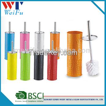 colors metal toilet brush holder